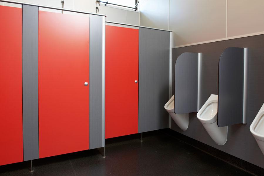 Vách ngăn vệ sinh compact – sự lựa chọn hoàn hảo cho công trình